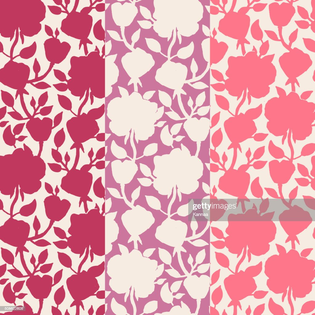 Floral seamless pattern. Vector illustration for beautiful design : Vector Art