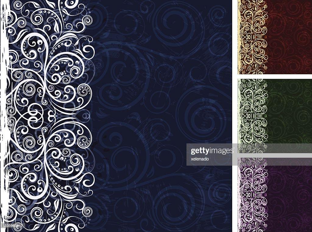 Floral vector background : Vector Art