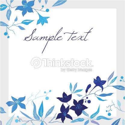 Vector tarjetas de felicitaci n con flores arte vectorial for Adornos para paginas