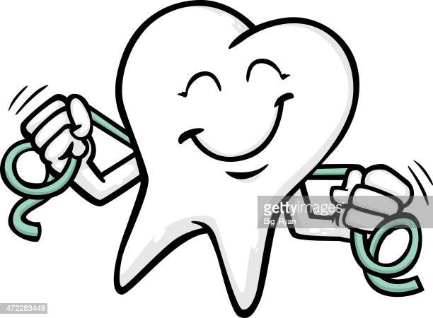 flossing tooth