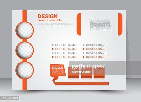 Flyer Brochure Magazine Cover Template Design Landscape Orientation ...