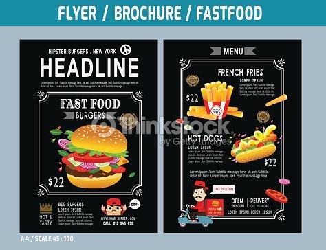 Flyer Brochure Template Vector Art Thinkstock