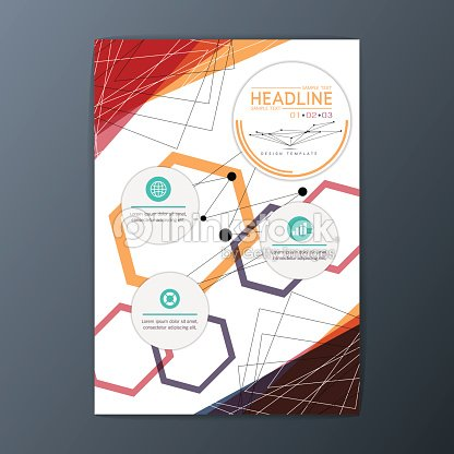 Flyer Zeitschrift Oder Broschüre Designvorlage Business Hintergrund ...