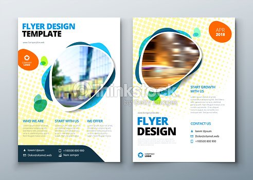 Flyer template layout design business flyer brochure magazine or flyer template layout design business flyer brochure magazine or flier mockup in bright accmission Choice Image