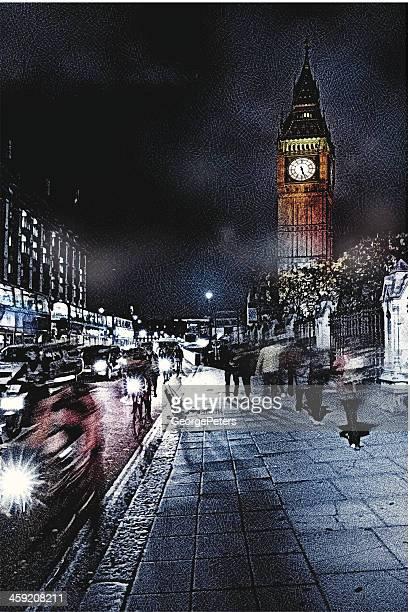 Foggy London Fahrt
