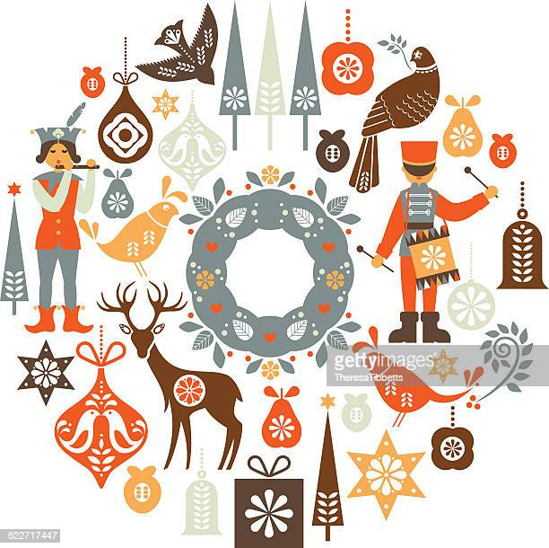 Folklore Christmas Montage