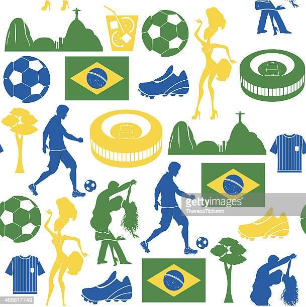 Fußball und Brasilien wiederholen Muster