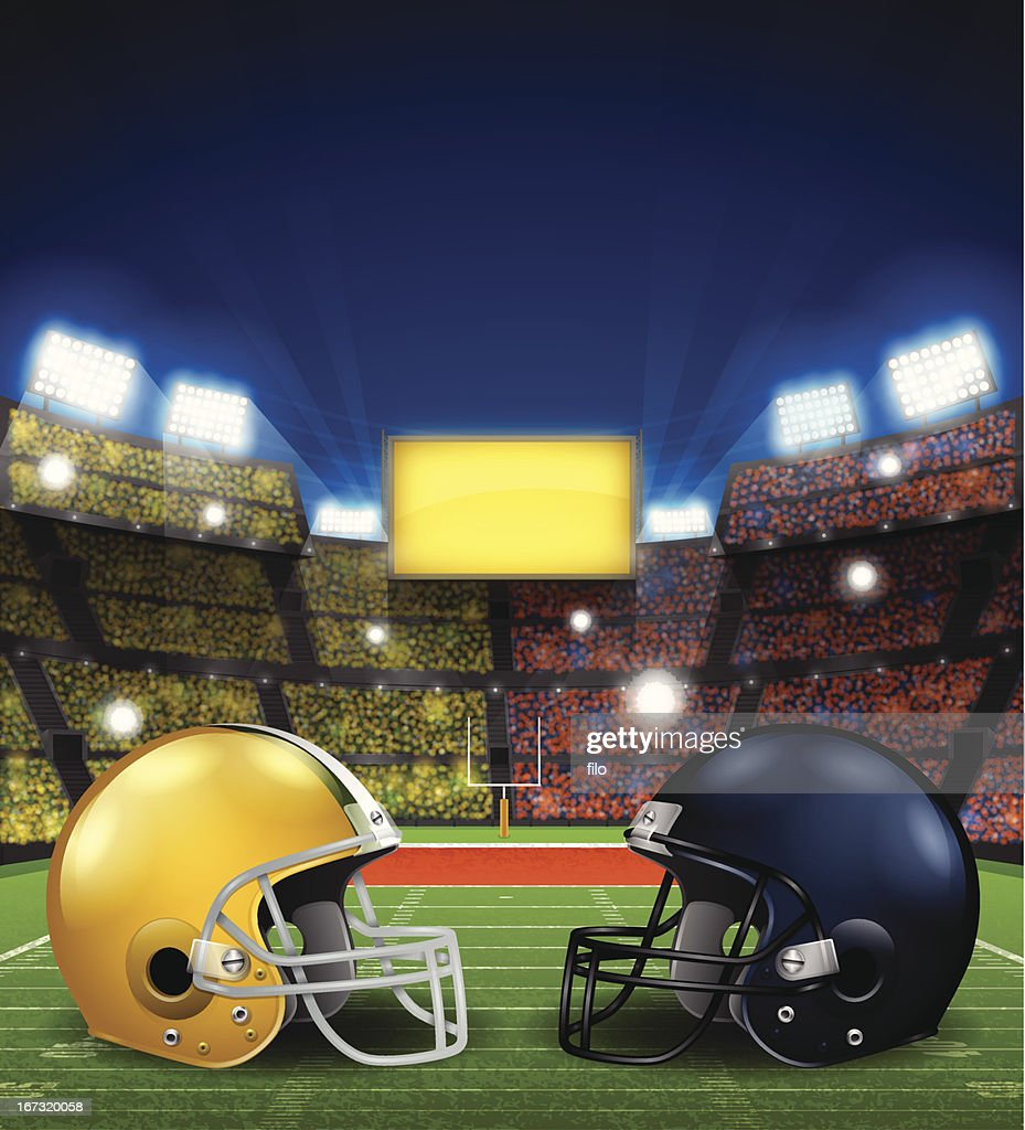 Football Game : Vector Art