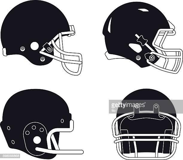 Illustrations et dessins anim s de casque de football - Dessin football americain ...