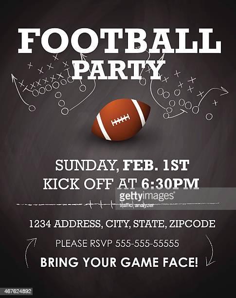 invitation à la fête de Football