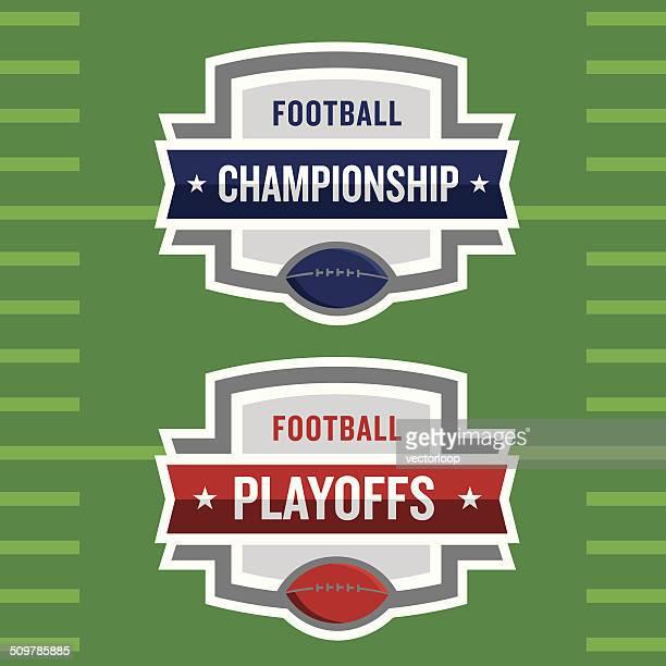 Playoffs Logo de Football