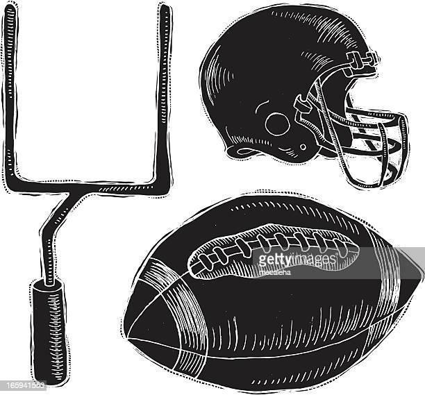 Football Reverse Ink