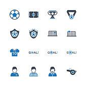 Football & Soccer Icons - Set 1
