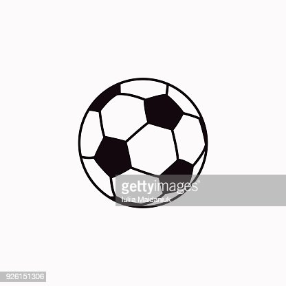 Icone De Football De Vecteur Clipart Vectoriel Thinkstock