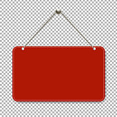 For Sale Sign With Transparent Background With Gradient Mesh, Vector Illustration