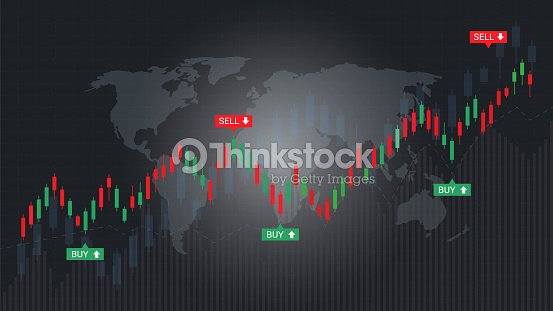 Forex Stock Market Investment Trading Concept Candlestick Pattern With Bullish And Bearish Is A Style Of Financial Chart Suitable For Describe Price