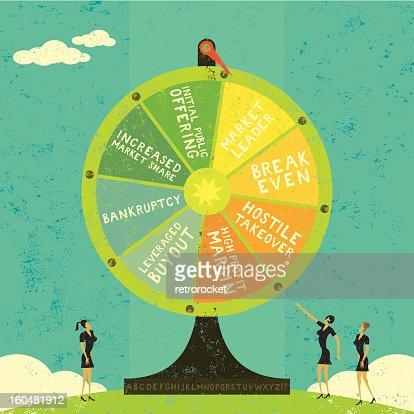 Fortune Wheel : Vector Art