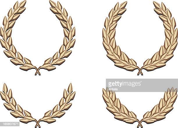 Four Golden Laurels