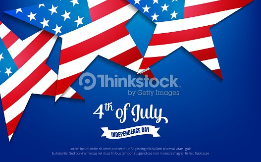 Fourth of July. 4th of July holiday banner. USA Independence Day banner for sale, discount, advertisement, web etc.