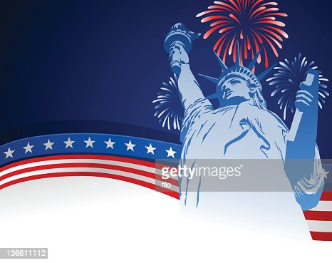 Fourth of July USA Background