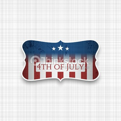 Fourth of July USA national Holiday Background