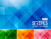 Vector diagonal and stripes abstract background. Suitable for your design element and background