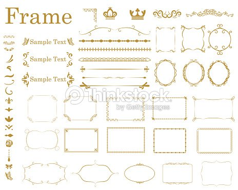 frame1 : stock vector