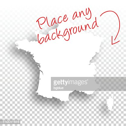 France Map For Design Blank Background Vector Art Getty Images - France map images blank