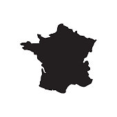 france map geography icon vector illustration design