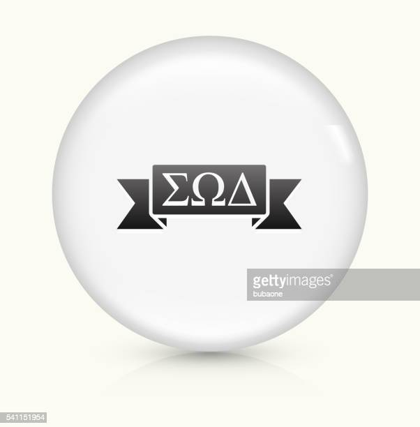 Fraternity Ribbon icon on white round vector button
