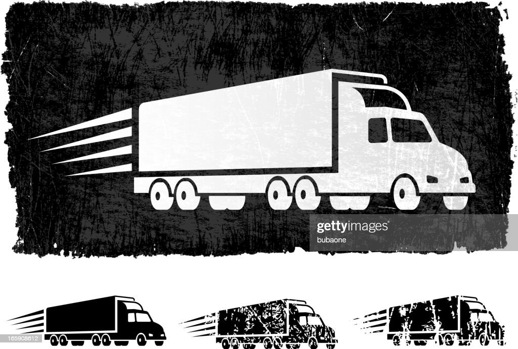 free delivery freight truck royalty free vector background vector