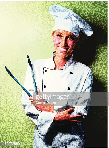Friendly Chef : Vector Art