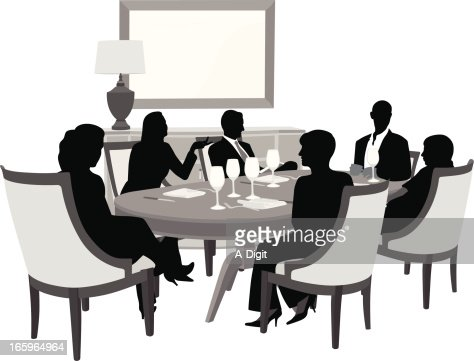 Dining Room Vector Art And Graphics | Getty Images
