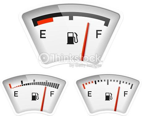Fuel Gauge stock vector | Thinkstock