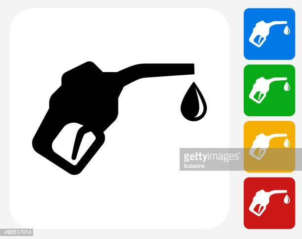 Fuel Icon Flat Graphic Design