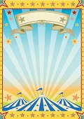 A new color circus background.