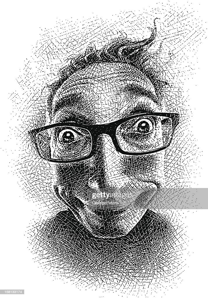 Funny Face : Vector Art