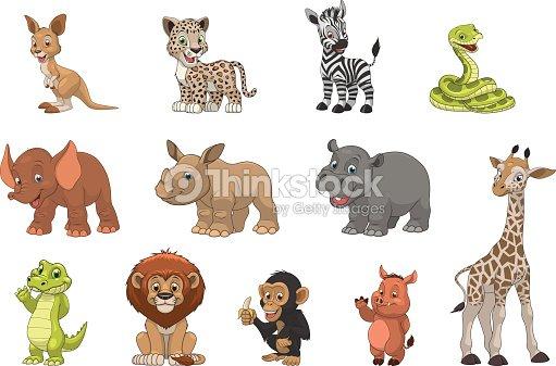 Funny kids animals