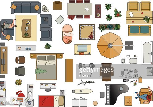 related images. psd 2d floorplan furniture ...