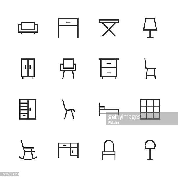 Furniture Icon - Line Series