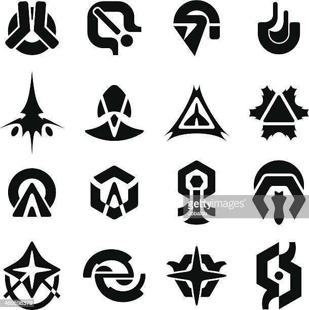 Futuristic Logos and Decalcs