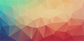 Flat colorfull Polygon Backgrounds Futuristic technology style.