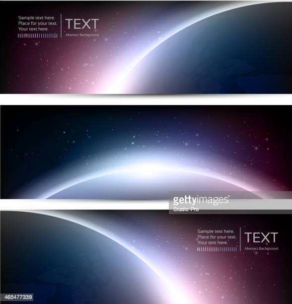 Galaxy Eclipse banners