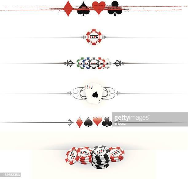 Gambling dividers