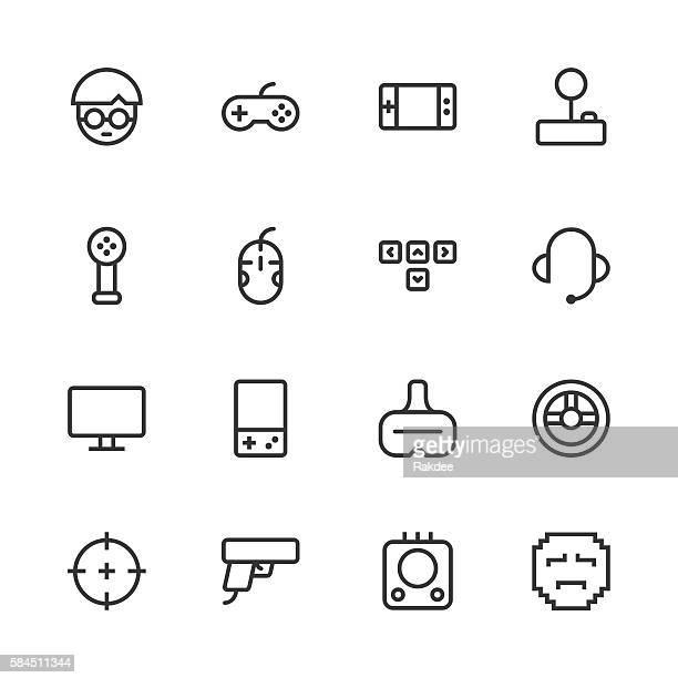 Gamer Icon - Line Series