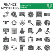 Olympic games glyph icon set, sport symbols collection, vector sketches, symbol illustrations, sportsman signs solid pictograms package isolated on white background, eps 10.