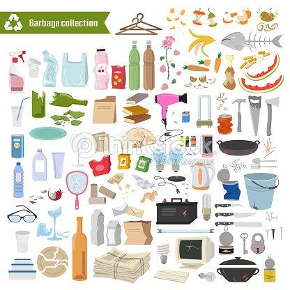 Garbagecollection. : Vektorgrafik