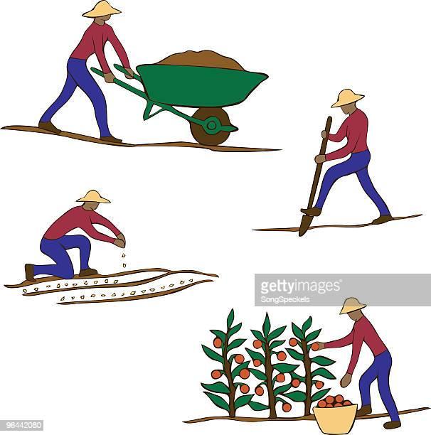 Jardinier Clip Art