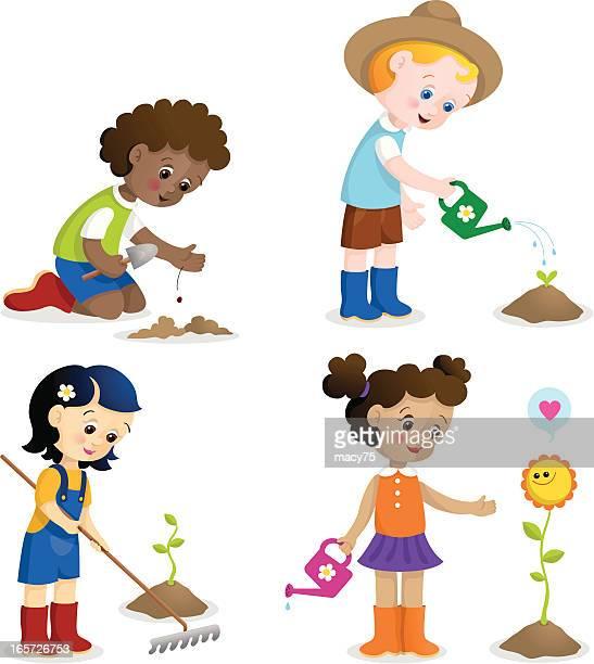 Jardinage de loisirs pour les enfants