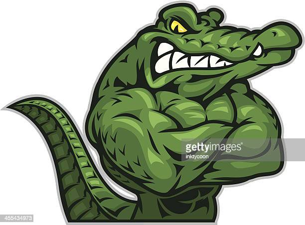 Gator Arms Crossed